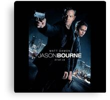 jason Bourne movie Canvas Print