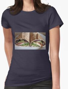 kebeb for lunch Womens Fitted T-Shirt
