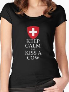 Swiss Women's Fitted Scoop T-Shirt