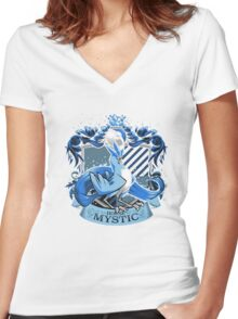 House Mystic Women's Fitted V-Neck T-Shirt