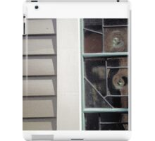 wall portrait, concord retreat window iPad Case/Skin