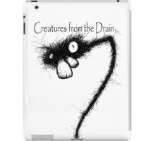 creatures from the drain raw austin 5 iPad Case/Skin