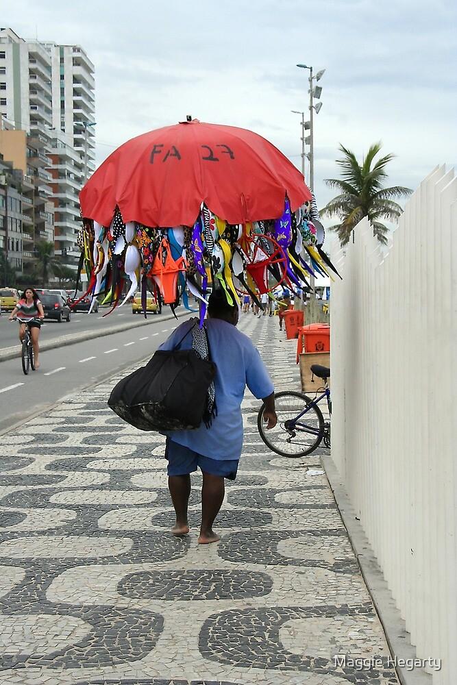 A Mobile Salesman, Rio de Janeiro by Maggie Hegarty
