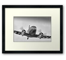 DC3 Fast And Low - Farnborough 2014 Framed Print