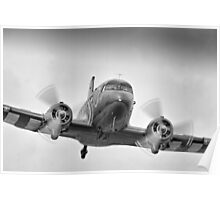 DC3 Fast And Low - Farnborough 2014 Poster