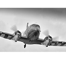 DC3 Fast And Low - Farnborough 2014 Photographic Print
