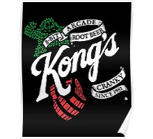 Kong's Root Beer Poster