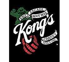 Kong's Root Beer Photographic Print