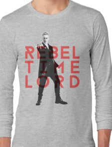 Rebel Time Lord Long Sleeve T-Shirt