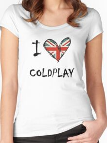 Coldplay Women's Fitted Scoop T-Shirt