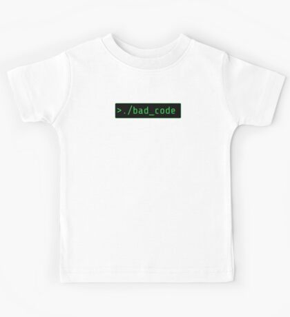bad code executing - Root, Person of Interest Kids Tee