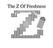 The Z Of Freshness Photographic Print