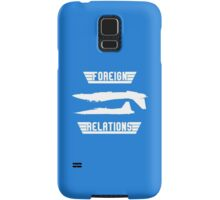 Foreign Relations Samsung Galaxy Case/Skin