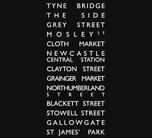 Newcastle Streets Unisex T-Shirt