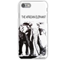THE AFRICAN ELEPHANT – Loxodonta Africana iPhone Case/Skin