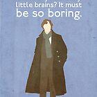Sherlock Poster by Llamasaurus