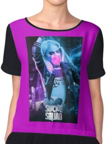 Harley Quinn Suicide Squad Chiffon Top