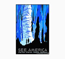 Vintage See America Travel Poster Unisex T-Shirt