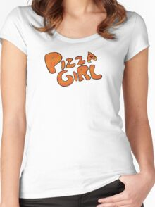 Pizza Girl! Women's Fitted Scoop T-Shirt