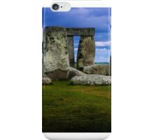Stonehenge a prehistoric monument in Wiltshire, England, iPhone Case/Skin