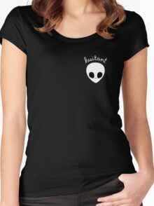 Gerard Way Hesitant Alien Women's Fitted Scoop T-Shirt