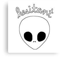 Gerard Way Hesitant Alien Canvas Print