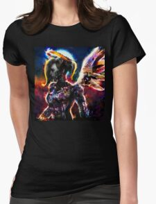 metal gear angel Womens Fitted T-Shirt