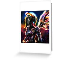 metal gear angel Greeting Card
