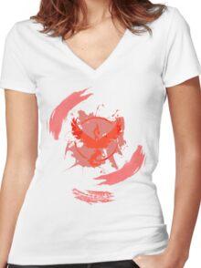 Valor Women's Fitted V-Neck T-Shirt
