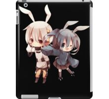 team konoha chibi  iPad Case/Skin