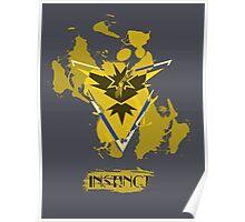 Pokemon Instinct Poster