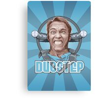 Dubstep Arnie Canvas Print