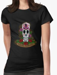 Mexican Fandango Black Womens Fitted T-Shirt