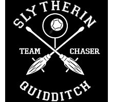 Slytherin Quidditch Team Chaser Photographic Print