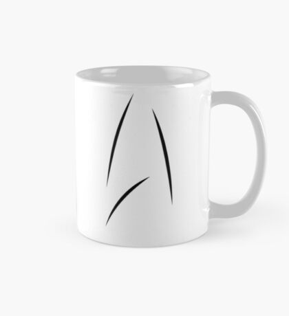 FOR TALL MUGS - Star Trek Beyond - Starfleet Logo as seen on Captain Kirk's Mug Mug