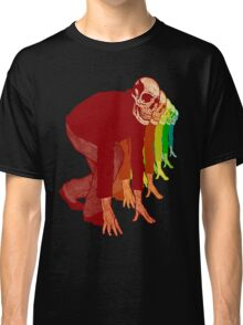 Racing Rainbow Skeleton Classic T-Shirt