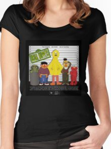 The Usual Muppets Women's Fitted Scoop T-Shirt