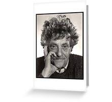 Kurt Vonnegut Greeting Card