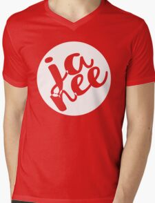 JA NEE - Yes/No Mens V-Neck T-Shirt