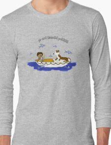 Pi and Richard Parker Long Sleeve T-Shirt