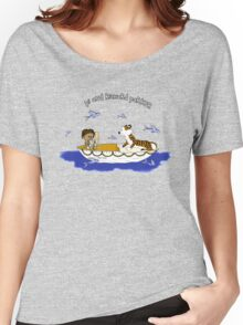 Pi and Richard Parker Women's Relaxed Fit T-Shirt