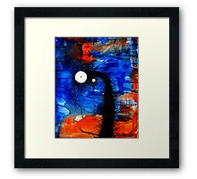the creatures from the drain painting  13 Framed Print