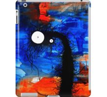 the creatures from the drain painting  13 iPad Case/Skin
