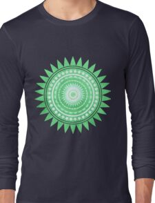 Green Star Long Sleeve T-Shirt