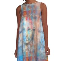 The passage fragment - phases and frequencies A-Line Dress