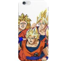 Bad Animation Goku iPhone Case/Skin