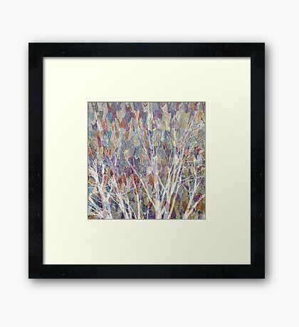 Web Of Trees Framed Print