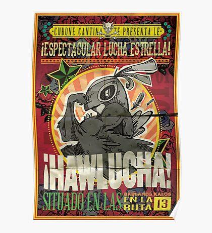 HAWLUCHA MUCHA Poster