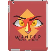Wanted: Poofed or Alive iPad Case/Skin