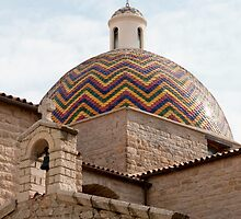 Glorious Tile Dome by Marylou Badeaux